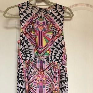 Mara Hoffman geometric print dress 4
